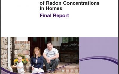 Cross Canada Survey of Radon Levels in Homes - Final Report