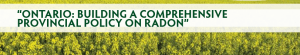 Join us on May 1 for one-day Radon Symposium