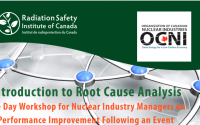 1-Day Workshop - Introduction to Root Cause Analysis - June 16, 2017