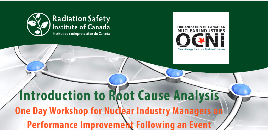 1-Day Workshop – Introduction to Root Cause Analysis – June 16, 2017
