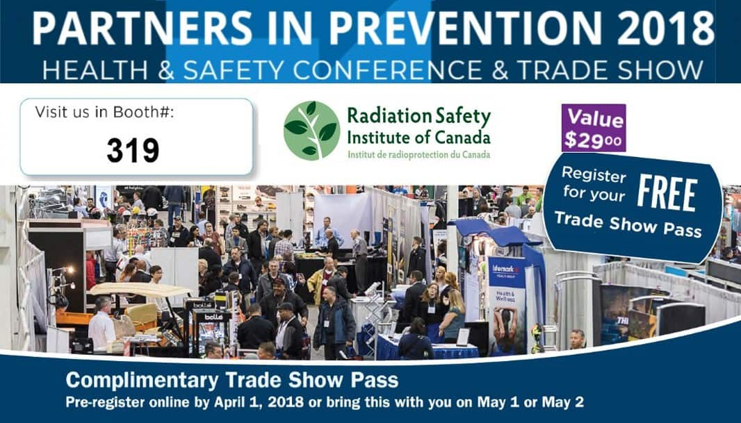 Register for your FREE Partners in Prevention 2018 Trade Show Pass  – Value $29