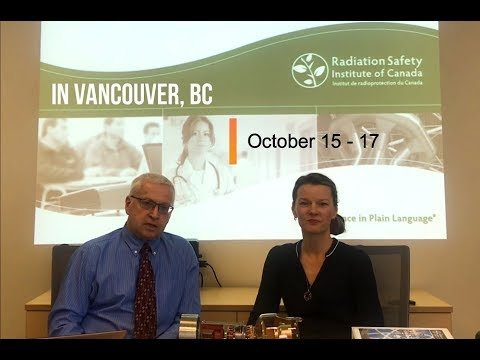 X-Ray Safety Officer Course in Vancouver – October 15 – 17, 2018